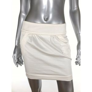 Club Monaco Womens Sz 2 Skirt Pencil Mini Cotton